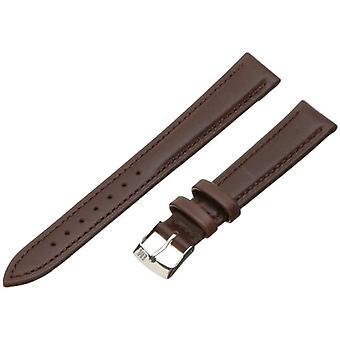 Morellato black leather strap unisex Brown Muse 16 mm A01X3935A69032CR16