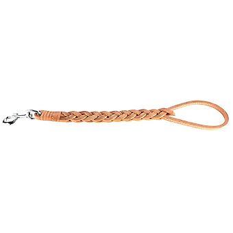 Ferribiella Plait Leather Handle Cm.55 (Honden , Halsbanden en Riemen , Riemen)