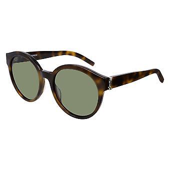 Saint Laurent SL M31 005 Havana/Green Sunglasses