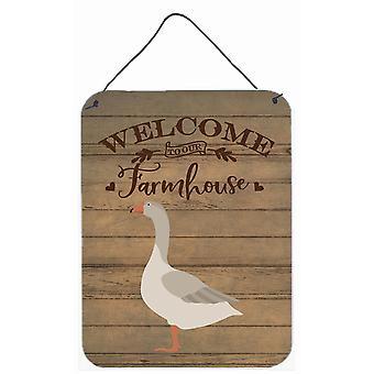 Steinbacher Goose Welcome Wall or Door Hanging Prints