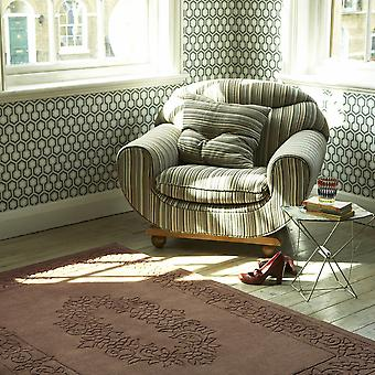 Royale Rugs - Traditional Indian Wool In Chocolate