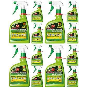 Sparsomme: 12 x COMPO Lawn Weed Killer Banvel® Quattro AF, 1000 ml