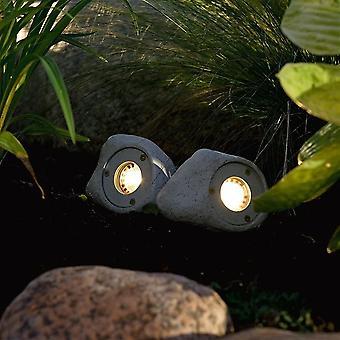 Konstsmide Set Of 3 LED Rock Garden Lights