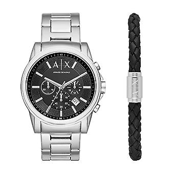 Armani Exchange Chronograph quartz men's Watch with stainless steel band AX7100