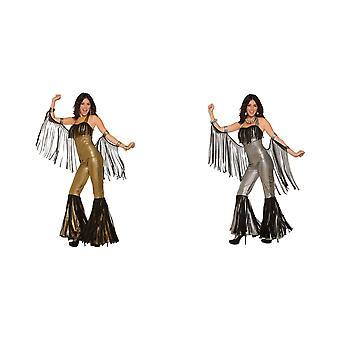 Bristol Neuheit Damen/Damen Disco Queen Jumpsuit Kostüm