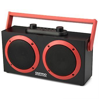 Portable Bluetooth Speakers Daewoo DSK-340 FM 15W Black