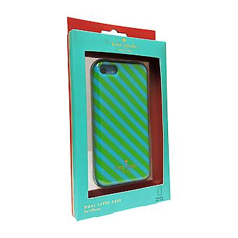Kate Spade Dual Layer Case for Apple iPhone 5C (Diagonal Stripe)