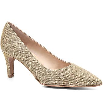 Jones Bootmaker Womens Anaya Metallic Court Shoe