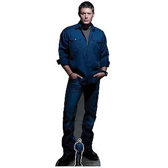 Dean Winchester Blue Shirt from Supernatural Official Lifesize Cardboard Cutout
