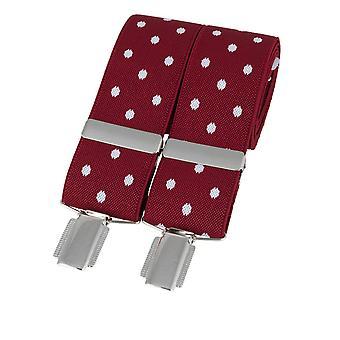Polka-Dot Clip-On Braces