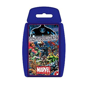 Top Trumps Marvel Universe Who's Your Hero?