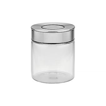 Tramontina Glass Canister With Airtight Seal, 0.7L