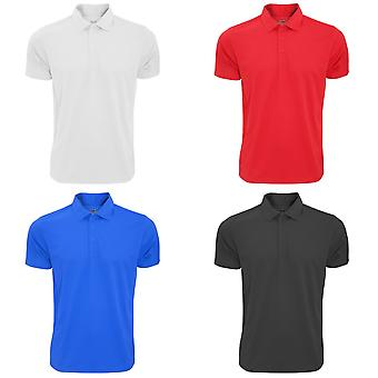 Fruit Of The Loom Mens Moisture Wicking Short Sleeve Performance Polo Shirt