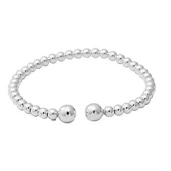 Adjustable Bangle for Women Sterling Silver Size 7.25