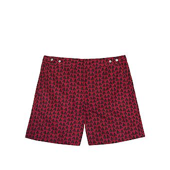Benibeca Men's Atoll Printed Swim Shorts