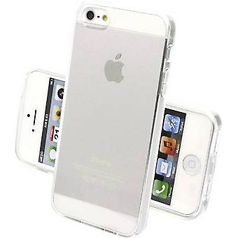 Perlecom Back cover Apple iPhone 5, iPhone 5S, iPhone SE Transparant