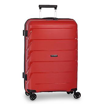 Fabrizio Worldpack Capri Trolley M, 4 ruote, 66 cm, 59 L, rosso