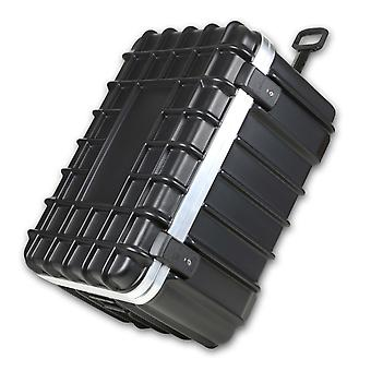 bwh Koffer T-Box Transportkoffer 76 cm 2 Rollen, Schwarz
