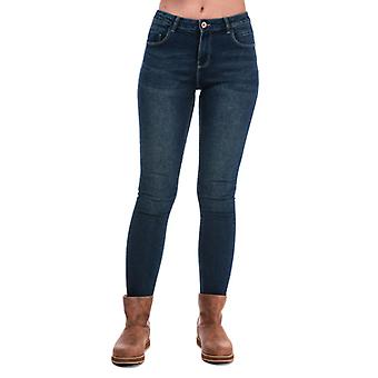 Women's Only Daisy Push Up Skinny Jeans in Blue