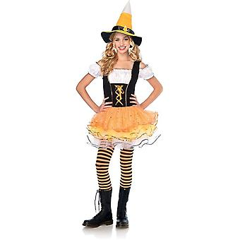 Corn häxa tonåring kostym