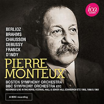 Berlioz / Monteux - Debussy / Chausson / Brahms [CD] USA import