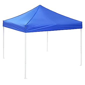 Yescom 10x10 EZ Pop Up Canopy Tent Outdoor Party Instant Shelter Portable Folding Canopy with Carry Bag, Blue