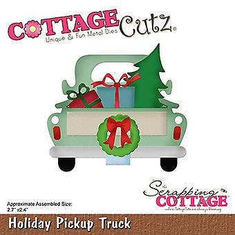 Scrapping Cottage Holiday Pickup Truck