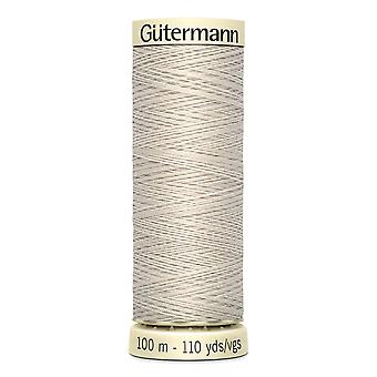 Gutermann Sew-all 100% Polyester Thread 100m Hand and Machine Colour Code  - 299