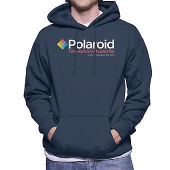 Polaroid Diamant Männer's Kapuzen Sweatshirt