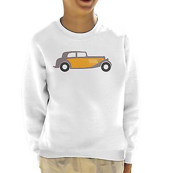 Citro�n Traction Classic Car Sketch Kid's Sweatshirt