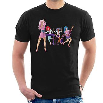 Jem And The Holograms Performing Live Men's T-Shirt