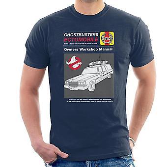 Haynes Ghostbusters ECTO 1 Besitzer Handbuch Herren's T-Shirt
