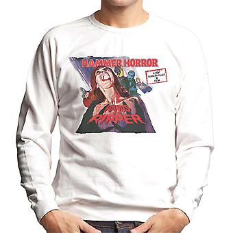 Hammer Horror Films Hands Of The Ripper Poster Men's Sweatshirt