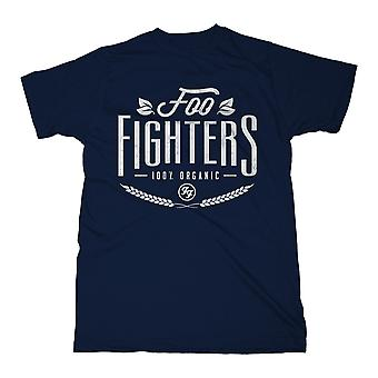 Foo Fighters 100% Organic Dave Grohl Rock T-Shirt Ufficiale
