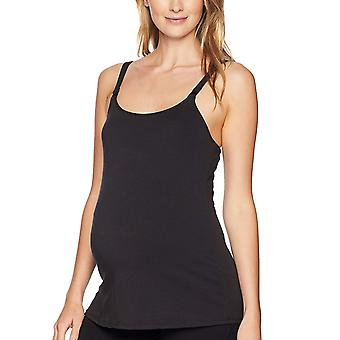 Arabella Women's Scoop Neck Nursing Tank, Black, Medium