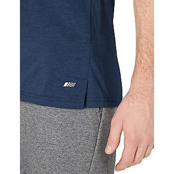 Essentials Miesten&s Suorituskyky Puuvilla Tank top paita, Navy, X-Large