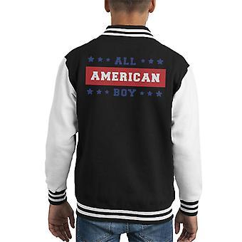 Alle Amerikanske Gutt Kid's Varsity Jakke