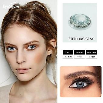Brilliant Colored Contact Lenses For Eyes Cosmetic Coloured  Eye Lenses Contacts