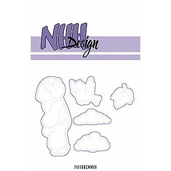 NHH Design Little boy Looking in the Sky Dies