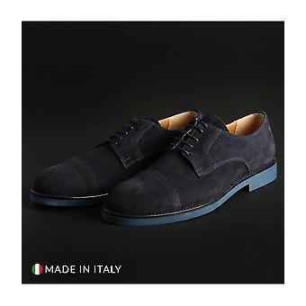 Madrid - Shoes - Lace-up shoes - 605_CAMOSCIO_BLU - Men - navy - EU 41