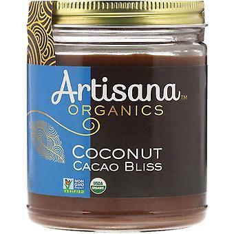 Artisana, Orgánicos, Cacao Bliss de coco crudo, Mantequilla de nuez, 8 oz (227 g)