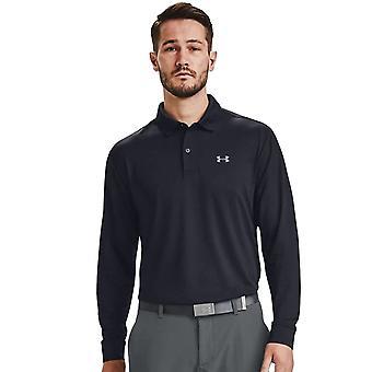 Under Armour Mens Performance LF Long Sleeve Golf Polo Shirt