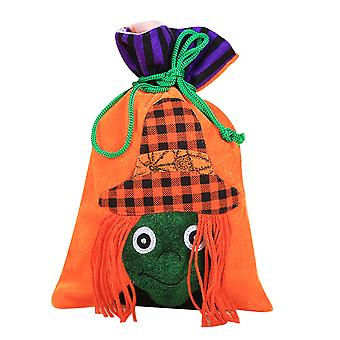 YANGFAN Halloween Treat Bags for Kids Drawstring