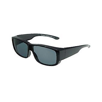 Óculos de Sol Unissex preto com lente cinza VZ0009A