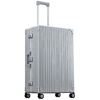 "ALEON Macro Traveler 30"" Trolley 4 ruedas, 50 cm, 80 L, plata"