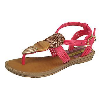 Grendha Dance Girls Beach Flip Flops / Sandals - Pink