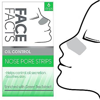 Face Facts Deep Cleansing Nose Pore Strips ~ Oil Control