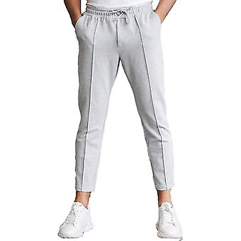 Belier Paris Beaumont Crop Trouser Plain Grey