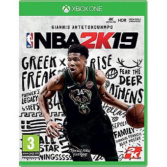 NBA 2K19 Xbox One Game (Duitse doos - Meerdere taal in game)
