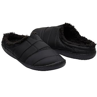Toms Berkeley Slippers - Black / Quilted